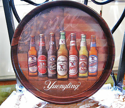 """(WOW) YUENGLING  BEER 13"""" INCH METAL - TIN LITHO TRAY POTTSVILLE PA"""