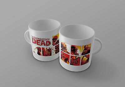 The Walking Dead  Mug Comic Book zombie cup blood