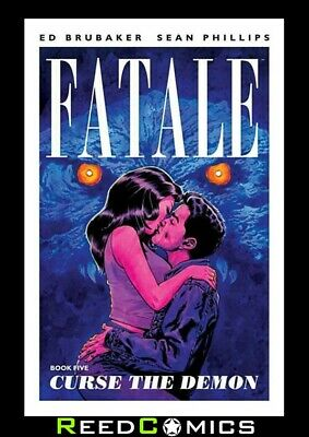 FATALE VOLUME 5 CURSE THE DEMON GRAPHIC NOVEL by Ed Brubaker Collects #20-24