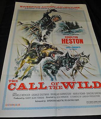 Call of the Wild Original One 1sh Sheet Movie Poster - (1972) ITB WH