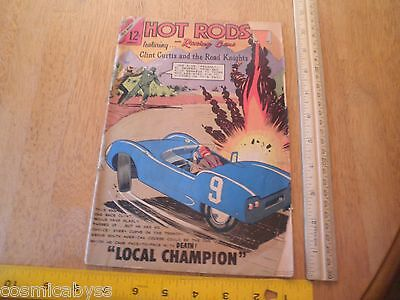 Hot Rods and Racing Cars comic Charlton 1960's Silver Age #67 G/VG
