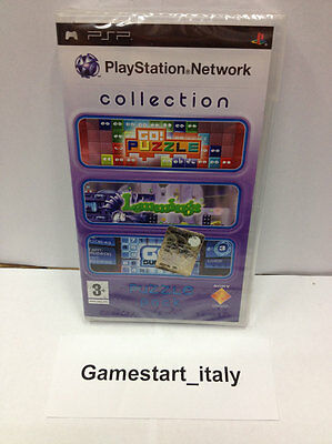 Playstation Network Collection Puzzle Pack (Sony Psp) Nuovo Sigillato New Sealed