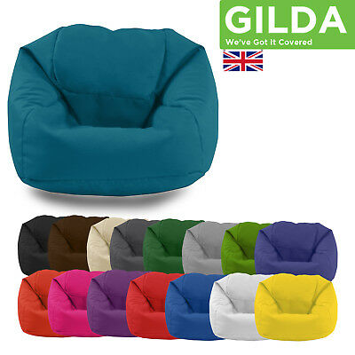 Gilda Kids Large Beanbag Bean Bags Children Chair Childs Gamer Bag Game
