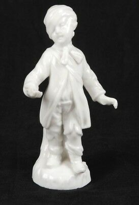 Antique Kpm Blanc De Chine Figurine Of A Beggar Boy