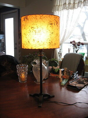 """#16 BEAUTIFUL VINTAGE TABLE LAMP art deco 27"""" INCHES TALL"""