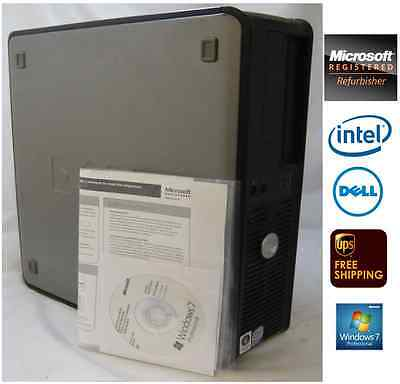 Lot of 10 - Dell Optiplex 755 DT, 4GB, 250GB, 2.4Gz C2Quad, Win 7 Pro FREE SHIP!