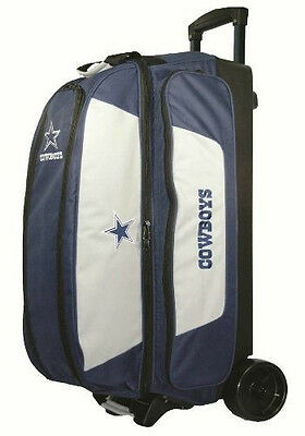 KR NFL Dallas Cowboys 3 Ball Roller Bowling Bag