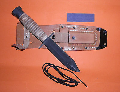Genuine U.S. Air Force and Navy Pilots survival knife.