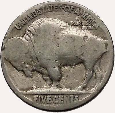 1920 BUFFALO NICKEL 5 Cents of United States of America USA Antique Coin i43583