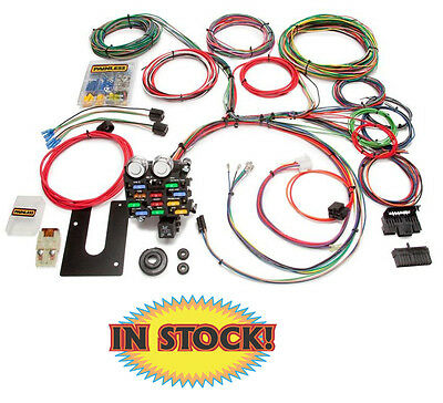 Painless 10101 - 21 Circuit Classic Chassis Harness - GM Keyed Column