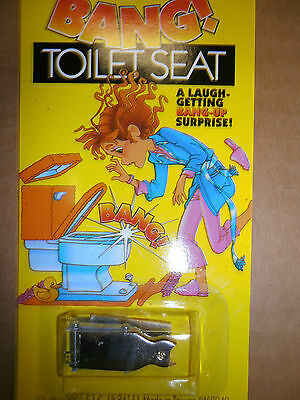 BANG TOILET SEAT TRICK JOKE GAG GIFT NOVELTY  TOYS  GAGS GIFTS  UP EXPLODING !!!