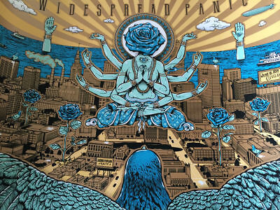 Widespread Panic - Shock 6/19/2014 poster print Cleveland OH Jacobs Pavillion