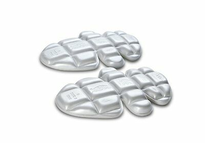 Knox Replacement Advance X Part 127 Shldr/Elbow/Knee Protector Inserts Pr White