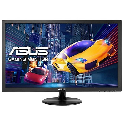 "Asus VE248HR 24"" LED LCD Gaming Computer Monitor 1MS FHD HDMI DVI VGA Speaker"