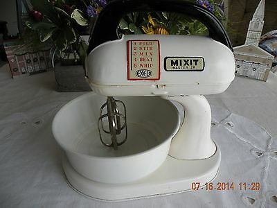 Vintage Toy MIXIT MASTER JR. Upright / Handheld Mixer