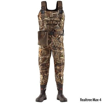 LACROSSE SWAMP TUFF PRO 1000G 700122 SZ 10 CHEST WADERS NEW!