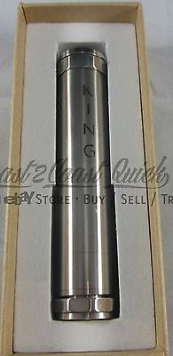 King Machined Stainless Steel Vaporizer Mod 18650 18500 18350