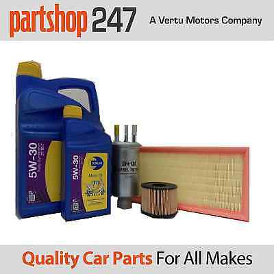 Ford Mondeo mk3 2.0 2.2 TDCI Service Kit Oil, Air Fuel Filters 6L 5w30 fully syn