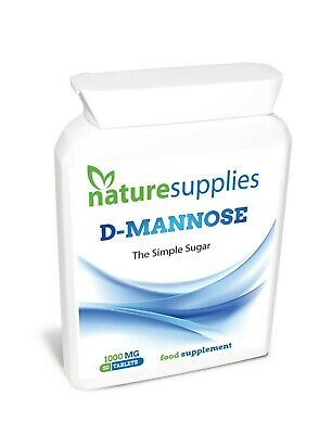 D-Mannose Tablets 1000mg | High Strength | 1 Month Supply  Naturesupplies