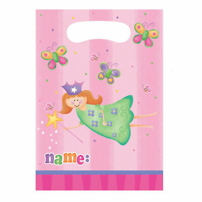 Tinkerbell lolly bags pack of 8 one size picclick for 1st birthday party decoration packs