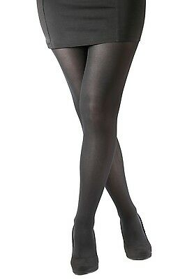 93fceeab8 Essexee Legs Plus Size 70 Denier Opaque Tights. Black. Nylon. 1 Pair.