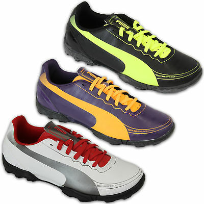 3c9c1c38f2 Boys PUMA Trainers Kids Astro Turf Shoes EVOSPEED 5.2 TT Lace Up Football  Sport