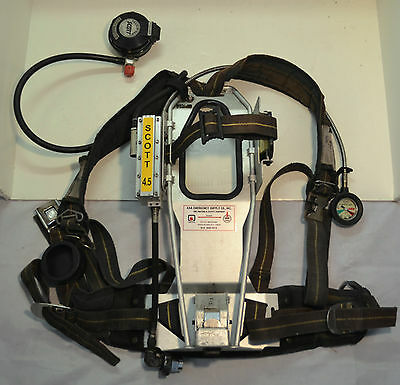 Refurbished Scott AP50 4.5 SCBA Firefighter Air Pak Pack 1992 Ed (Pak Only)