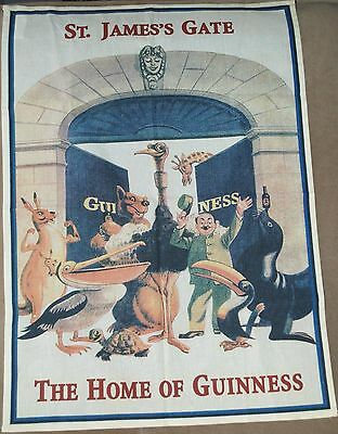 Guinness Beer St. James's Gate 'The Home of Guinness' Ireland Kitchen Bar Towel