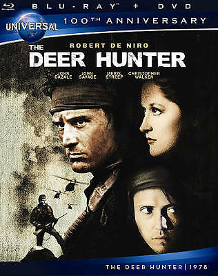 The Deer Hunter (Blu-ray/DVD, 2012, 2-Disc Set) New, Free shipping
