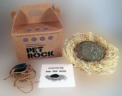 PET ROCK - New Silly Gag Gift