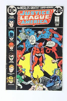 DC Comics Justice League Of America #106 1973 Vintage Bronze Len Wein Nick Cardy
