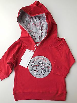 Pumpkin Patch Baby Boy Long Sleeve Hooded Tee Top Size 000 Fits 0-3M *new *gift