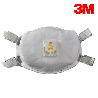 3M 8233 N100 Particulate Respirator 20 Masks Per Case  **Free US Shipping**