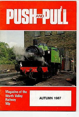 PUSH and PULL, Keighley & Worth Valley Railway. Autumn 1987.