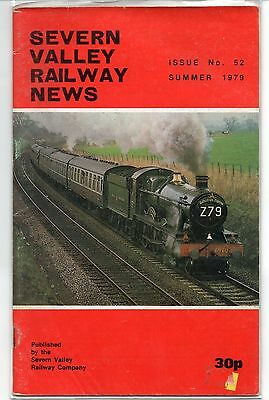 SEVERN VALLEY RAILWAY NEWS, Issue No. 52. Summer 1979.