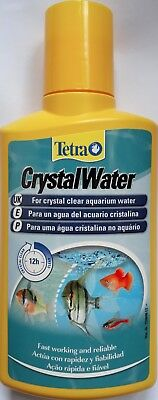 TETRA CRYSTAL WATER CLARIFIER AQUARIUM WATER TREATMENT 100ml 4004218144071