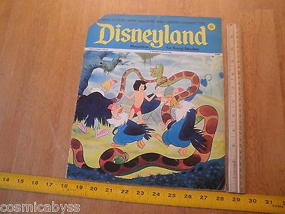 Disneyland Magazine 1972 Dumbo Peter Pan Uncle Scrooge comics Jungle Book #60