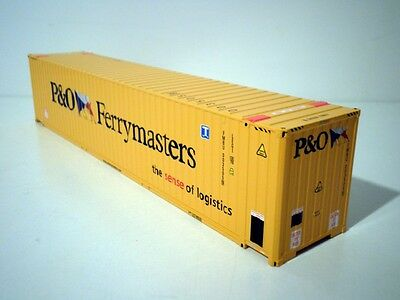 "WSI 45FT CONTAINER ""P&O FERRYMASTERS"""