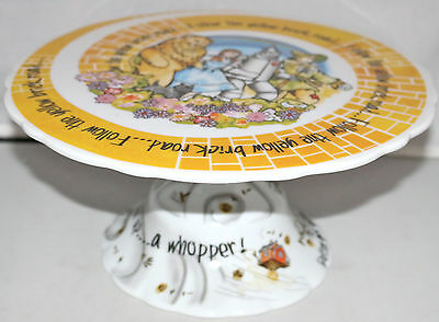 Paul Cardew WIZARD OF OZ Cake Stand NEW Yellow Brick Road