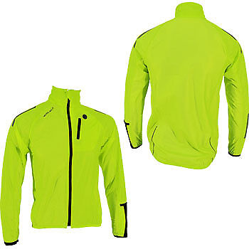 More Mile Junior Cycle Jacket - Hi Viz