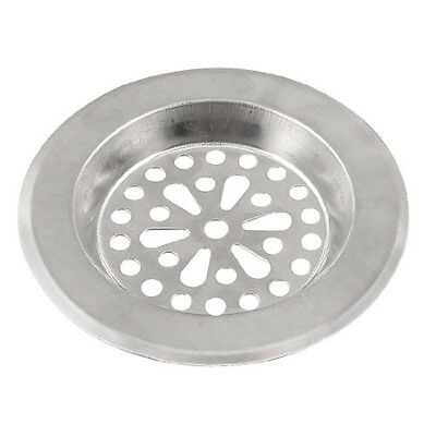 SALE ! 77mm x 55mm x 45mm Silver Tone Stainless Steel Kitchen Sink Strainers FK