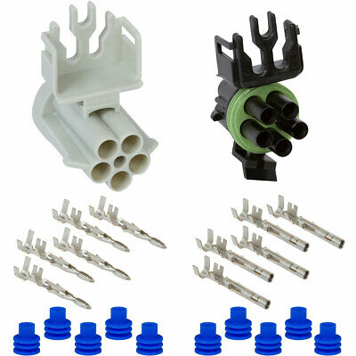 Weather Pack 5 Pin Connector Kit 12ga.