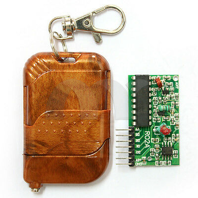 433MHz 4 Channel Wireless Remote Control Basic Stamp Transmitter Module IC 2272