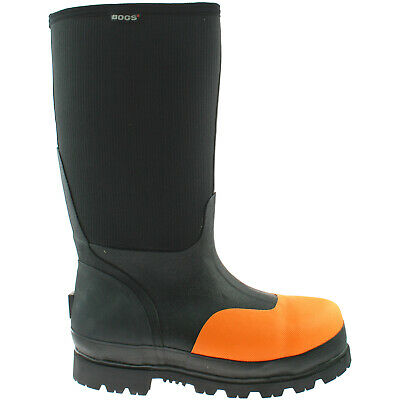 Mens Bogs Steel Toe Safety Wellies Boots Size Uk 7 - 12 Wellington Rancher 71476