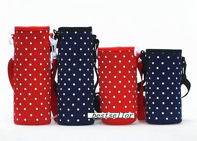Neoprene Water Bottle Cup Thermos Insulator Cover Bag Cooler case Holder Pouch