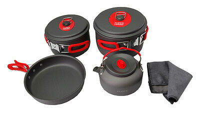 3-4 Person Cooking Pot Camping Cookware Outdoor Pots Sets CW-C06S