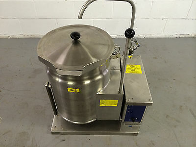 Cleveland KGT-6-T Steam Jacketed Manual Tilt Kettle Natural Gas