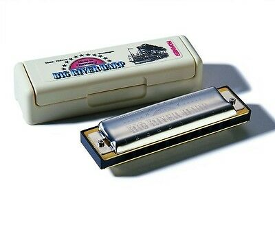 Hohner Big River Harmonica LOW TUNED F# - Sale Priced! Limited Quantity!