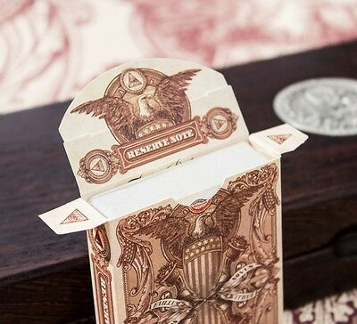 Federal 52 - White Edition Reserve Note Playing Cards