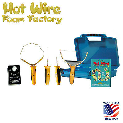 Hot Wire Foam Factory 4in1 Kit: Hot Knife, Sculpt Tool, Engraver, Carve EPS XPS